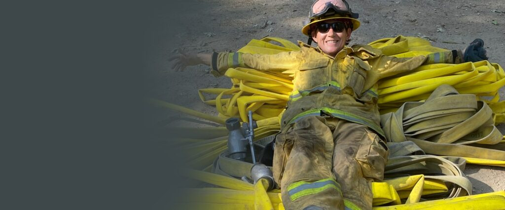 ONLINE FEATURE   Deaf Firefighter Perseveres with Dedication Amid 2020 Challenges