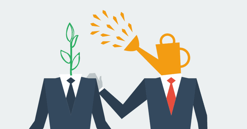 Illustration depicting externship/mentorship