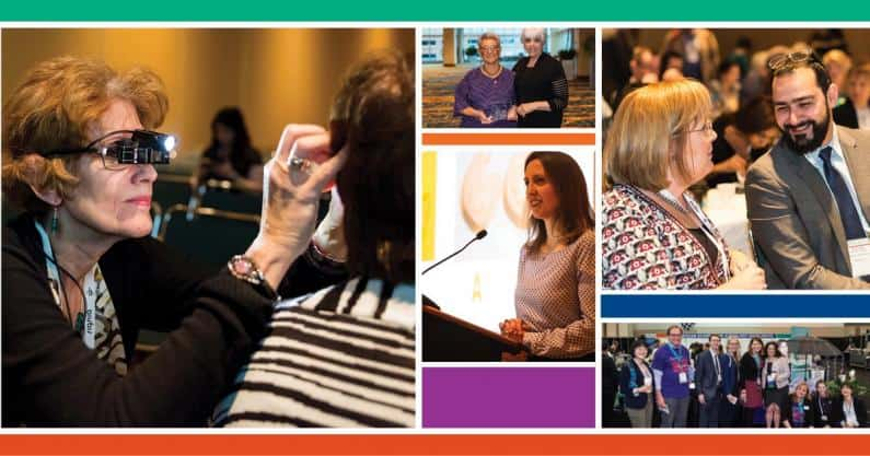 Collage of photos taken at Audiology Now! 2017