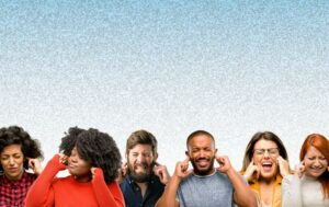 Diverse photo of people with Tinnitus