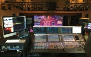 Photo of a sound-control booth in Nashville
