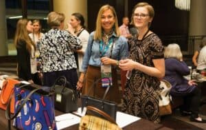 Photo from the AAAF purse auction