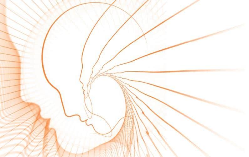 Illustration of human hearing loss