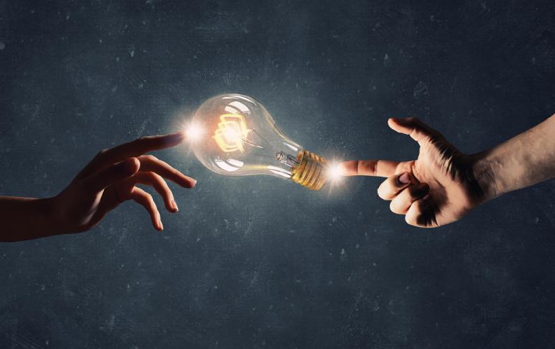 Photo illustration of partnership ideas