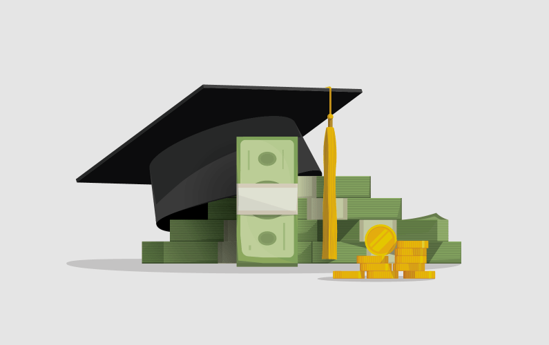 Illustration of scholarships