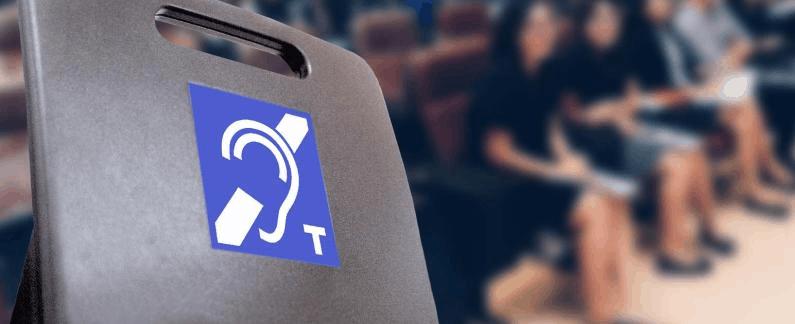 Assistive Listening Device sticker
