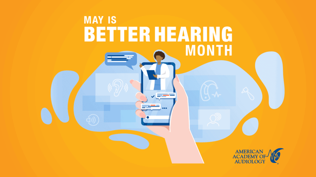 May Is Better Hearing Month Screensaver 1366x768