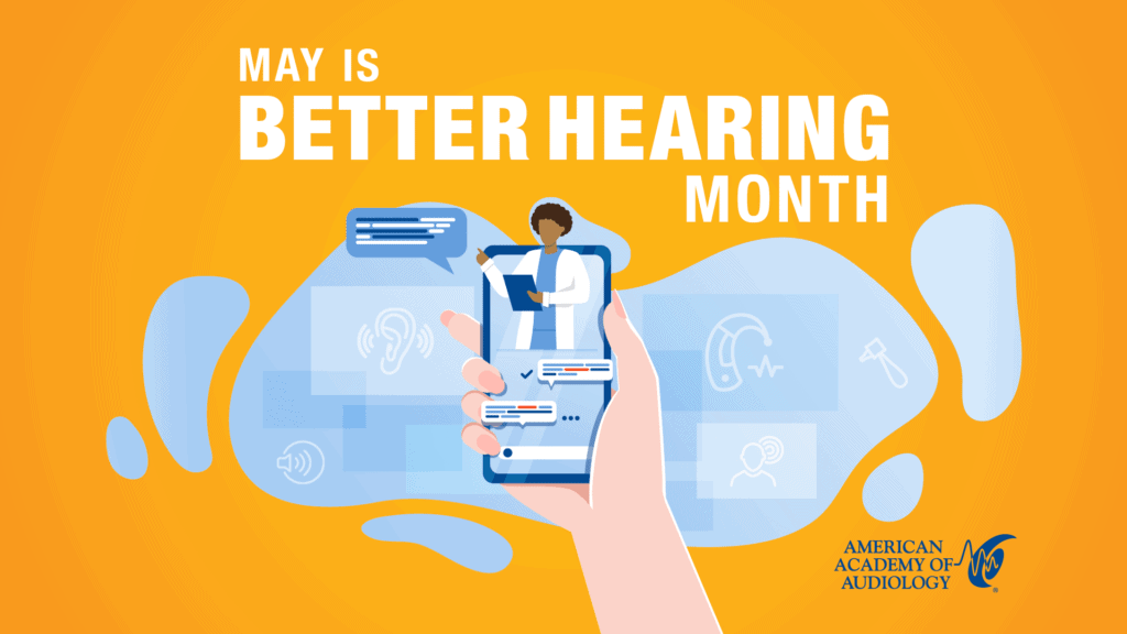 May Is Better Hearing Month Screensaver 1920x1080