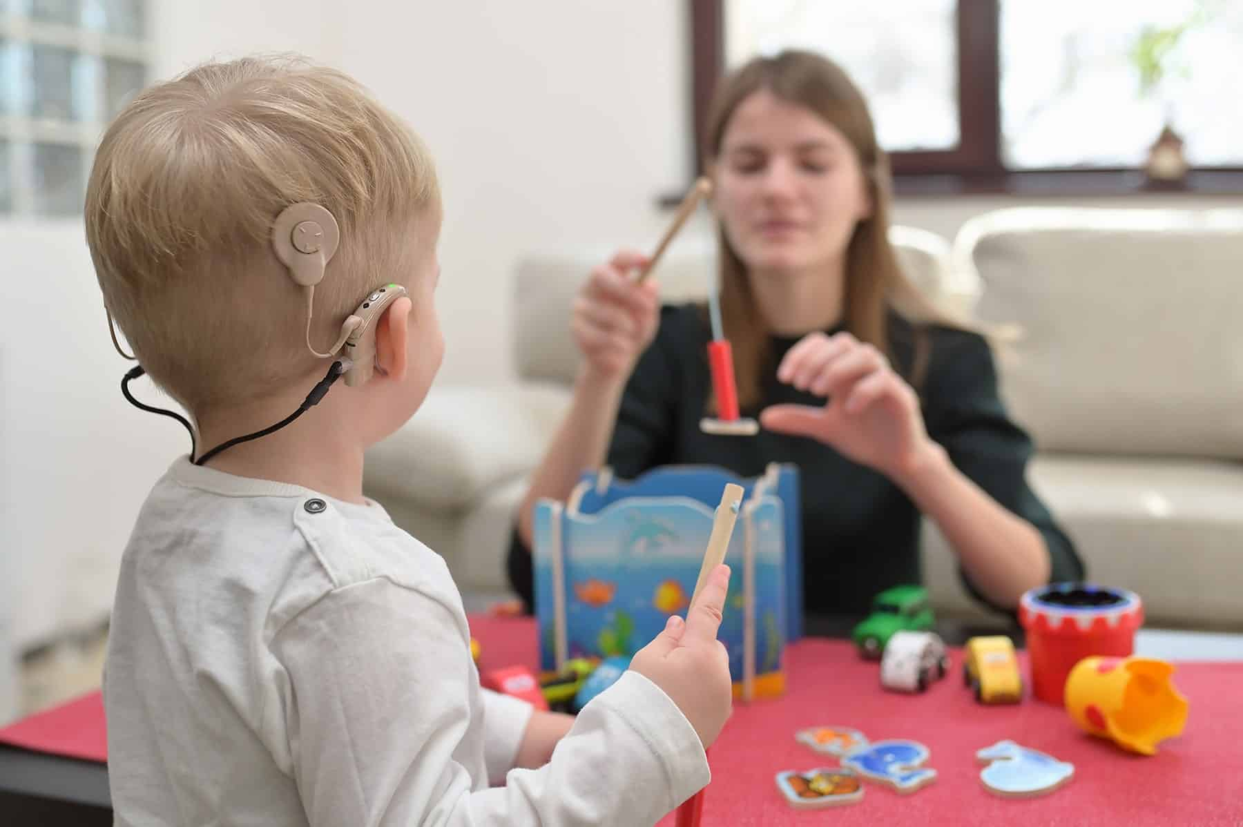 Cochlear Implant Child