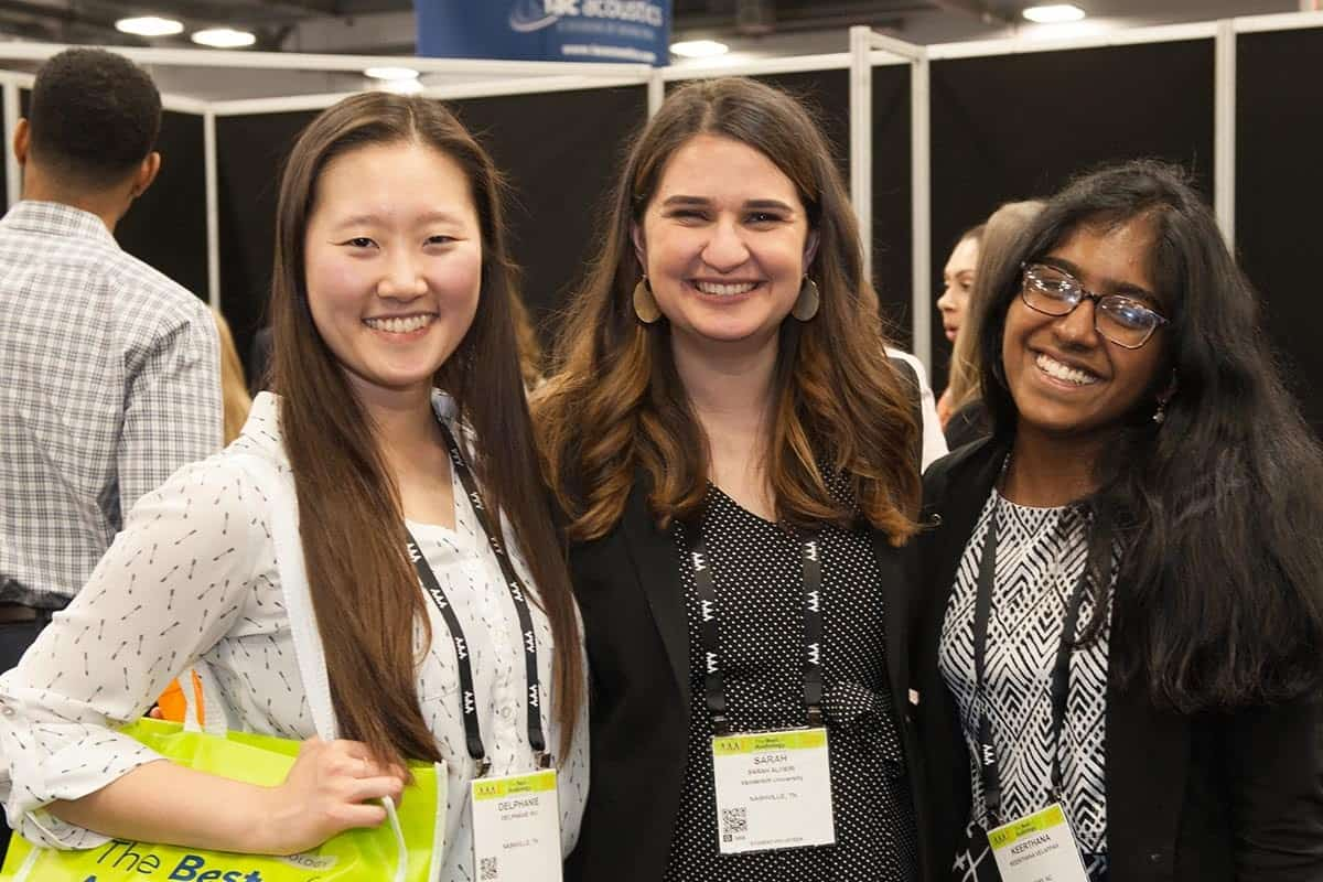 Young professional members of the American Academy of Audiology