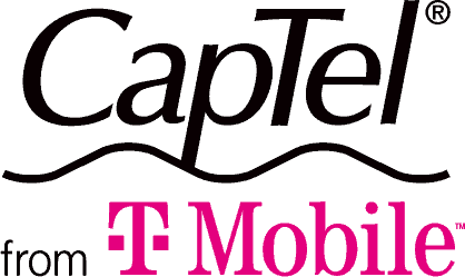 CapTel from TMobile logo
