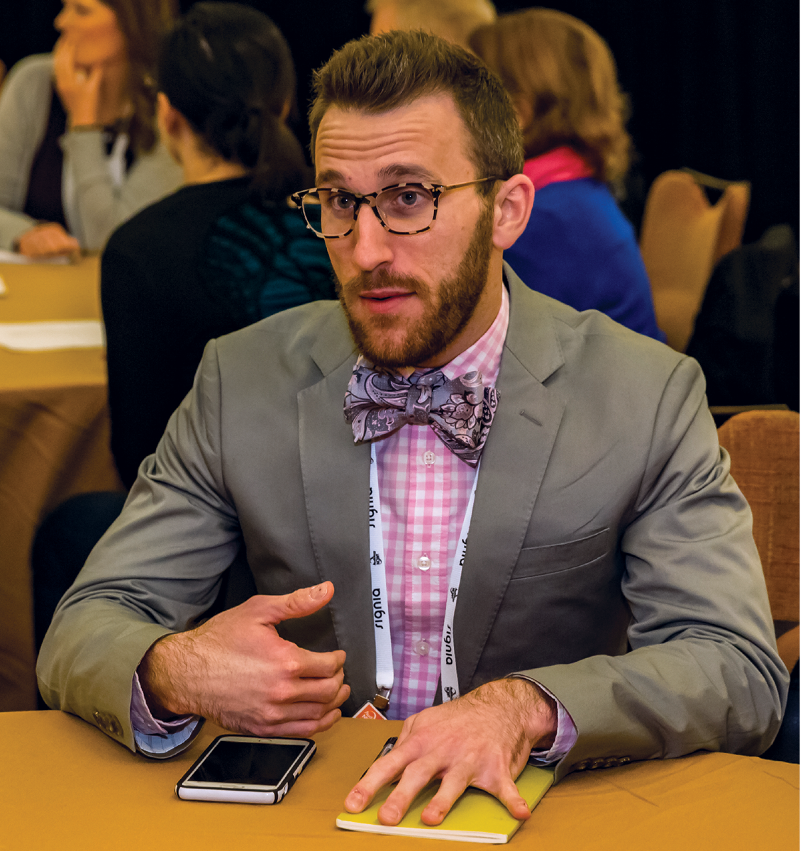 Joshua Huppert, BFA, AuD Student, president, Student Academy of Audiology (SAA) 2016–2017.