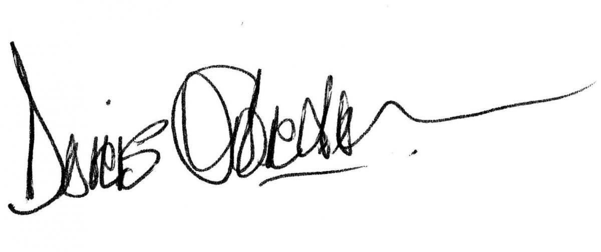 Doris Gordon Signature