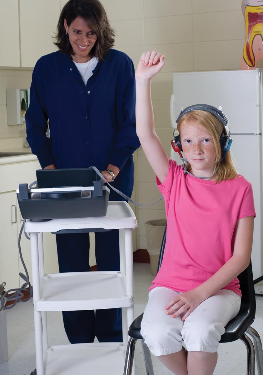 Child School Hearing Screening Image