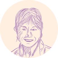 Brenda Ryals portrait illustration