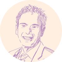 Dennis Van Vliet portrait illustration