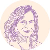 Lisa L. Hunter portrait illustration